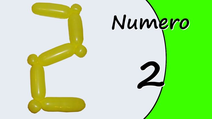 Video tutorial on how to make the Number two with balloon twisting. Learn the numbers with balloons modeled #numbers #number2 #numbertwo