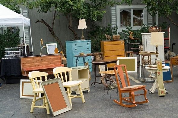 Shopping Tips For Flea Market Finds    I have dreams like this!