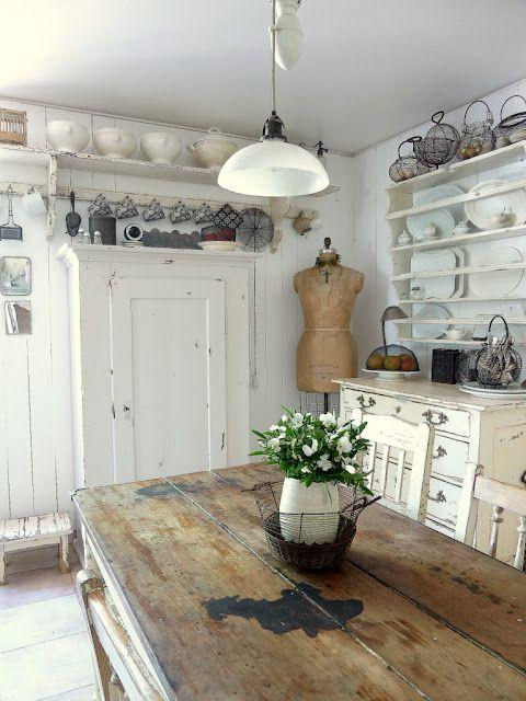 25 best ideas about rustic chic kitchen on pinterest - Cocinas estilo shabby chic ...