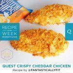 Quest Nutrition Crispy Cheddar Chicken #crispycheddarchicken Quest Nutrition Cri…
