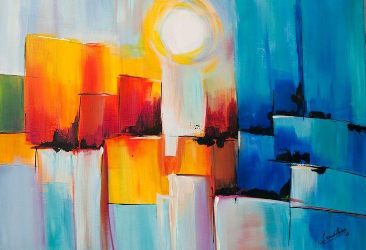 Cómo pintar cuadros abstractos: Aprende de forma fácilHacer Kamistad, Colors Cálido, Celebrities Pictures, Formas Fácil, Cuadros Abstractos, Abstractos Faciles, Faciles Hacer, Dibujos Abstractos, Cómo Pintar