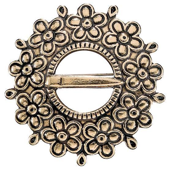 LOVIISA BROOCH, material: bronze