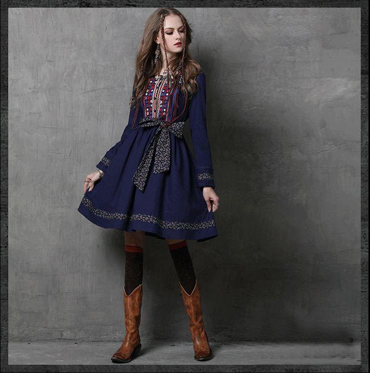 http://www.kalimeramark.ro/rochie-boho-retro-din-bumbac-cu-broderie-decorativa-colorata