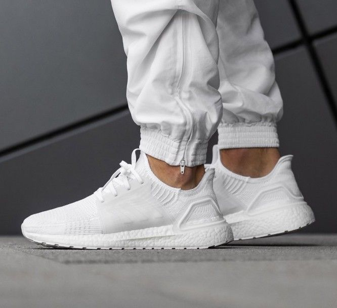 Adidas Ultraboost 19 Triple White Sale Price 118 99 Retail 180 Free Shipping Use Code Sale15 At Checkout Adidas Ultra Boost Adidas Ultra Boost