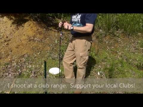 Cheap Steel Target Stand! - YouTube