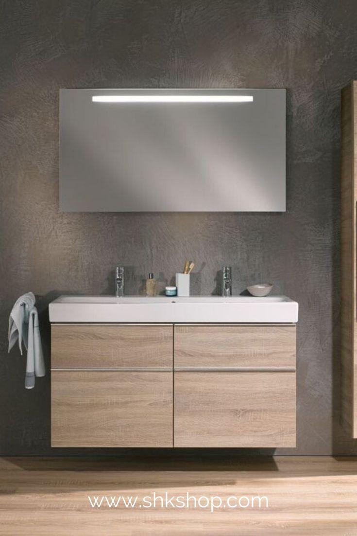 Keramag Icon Doppel Waschtischunterschrank 841522 1190x620x477mm Holzstruktur Eiche Natur In 2020 Neues Badezimmer Badezimmer Trends Waschtischunterschrank