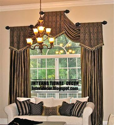 Best 25 living room drapes ideas on pinterest living - Latest curtain design for living room ...
