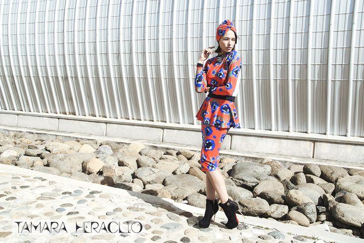 RETRO OUTFIT BY Tamara Heraclio(fashion designer) AW14