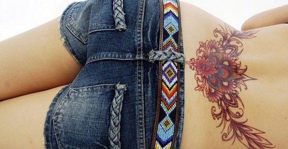 Cute Lower Back Tattoos   Secrets Lower Back Tattoos For Women: Cool Lower Back Tattoo Designs ...