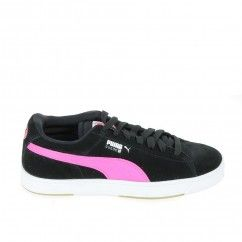 PUMA Suede S Jr Noir Rose
