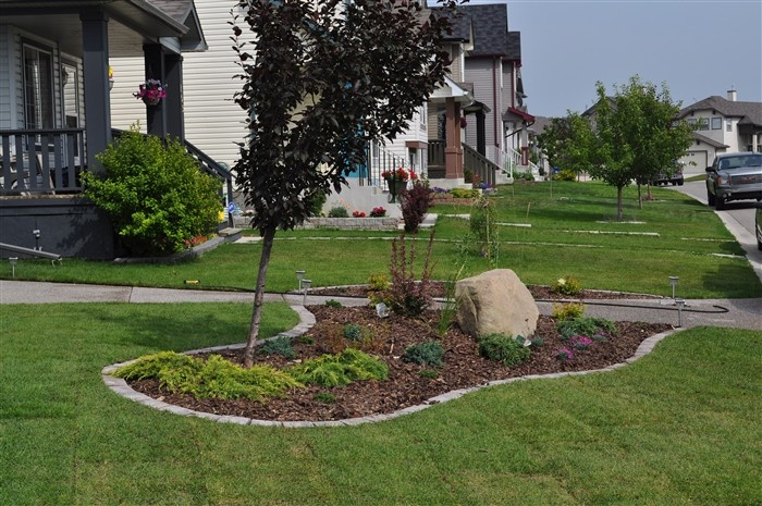 Landscaping Bricks Calgary : Yard landscaping design paving stones front yards calgary