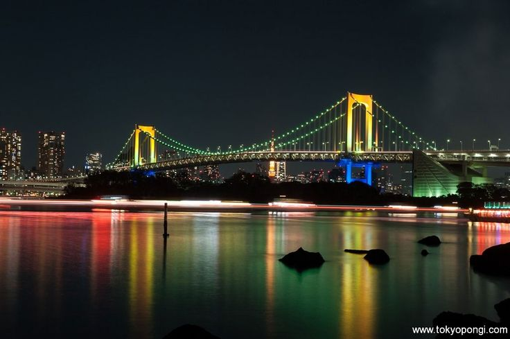#tokyo #tokio #odaiba #rainbowbridge