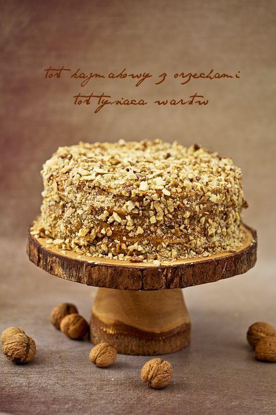 Tort kajmakowy z Chile - tort tysiąca warstw