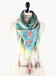 JUST IN-beautiful silk scarves by Johnny Was!