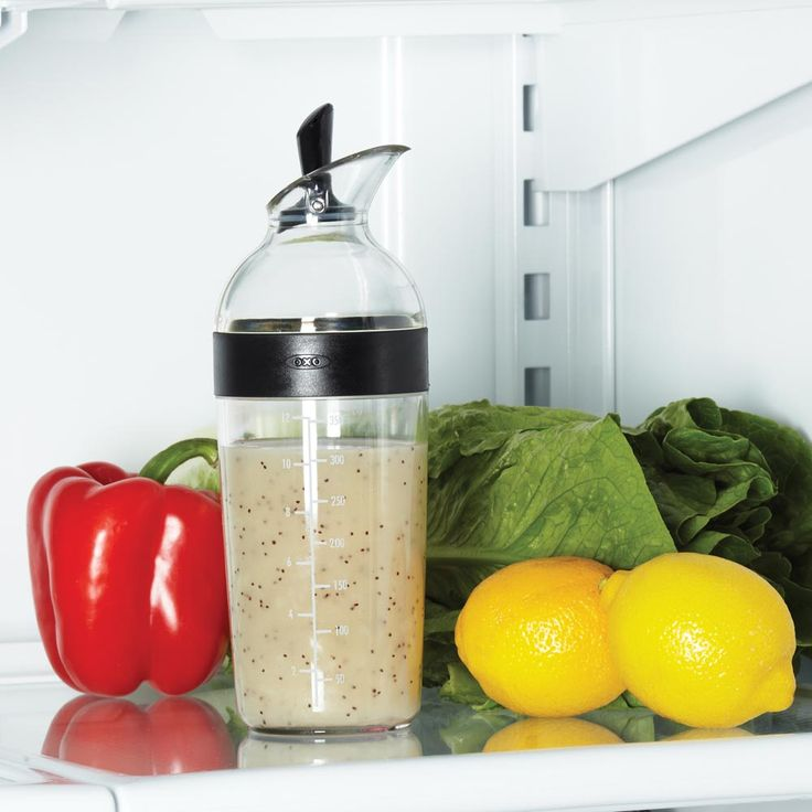My OXO Salad Dressing Shaker. Soo essential.