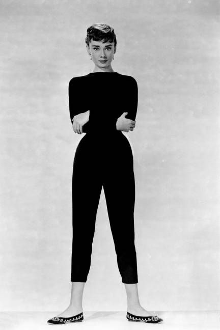 Audrey Hepburn: size 10 1/2 shoes. It makes me feel better about my huge feet.
