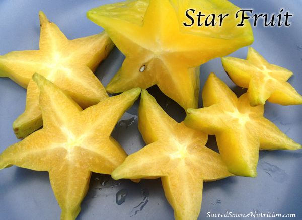 Star Fruit- Super juicy with such a delicate  sweet flavor, this is one incredible gift from mother nature.