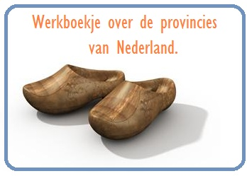 Werkboekje over de provincies van Nederland