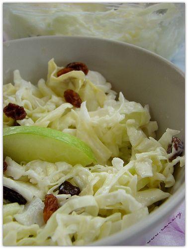 Üzümlü Elmalı Lahana Salatası - yemek tarifi, yemek tarifleri ...