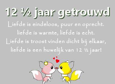 leuke 12,5 jaar getrouwd felicitatie plaatjes met tekst: liefde is eindeloos puur en oprecht. leukeplaatjesz.nl