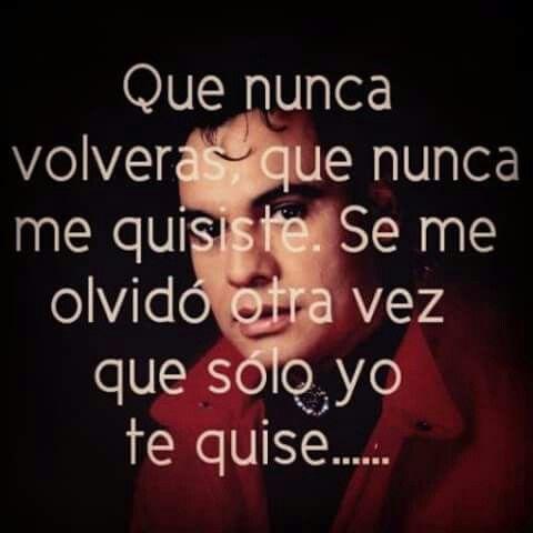 Se me olvidó otra vez-Juan Gabriel.
