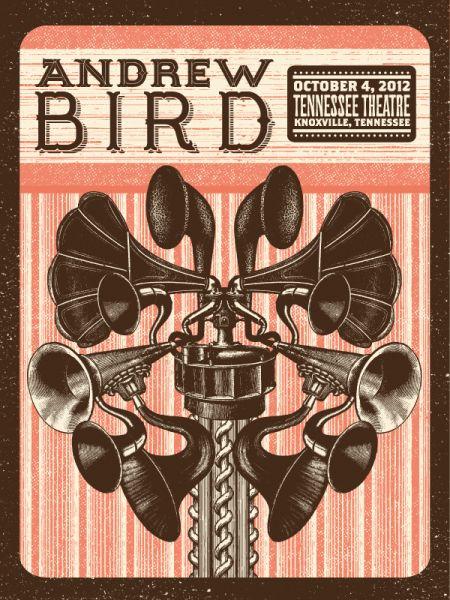 Andrew Bird by Status Serigraph