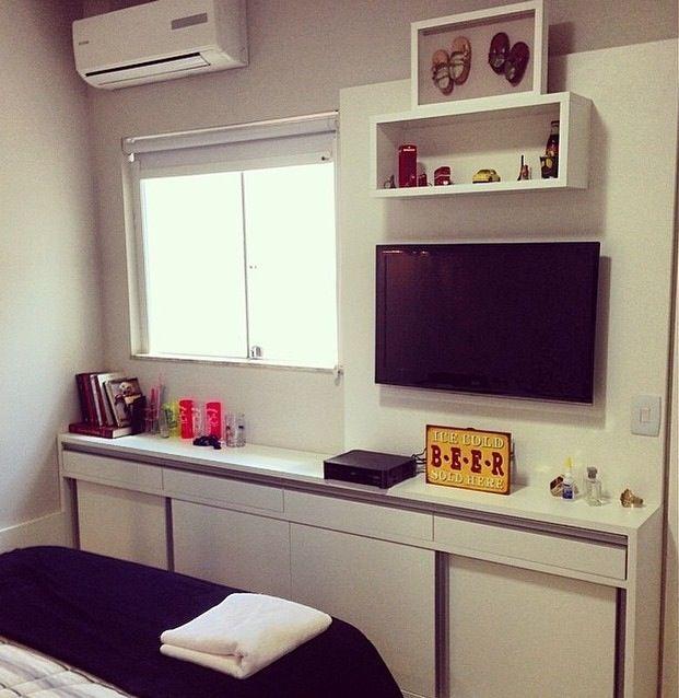 Decoração Quarto de Casal Pequeno Small Room decoração  ~ Tipos De Quarto Num Hotel