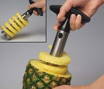 Now you can enjoy your favorite tropical fruit without having to deal with the carving of the tough exterior. This ingenious device drills through the...