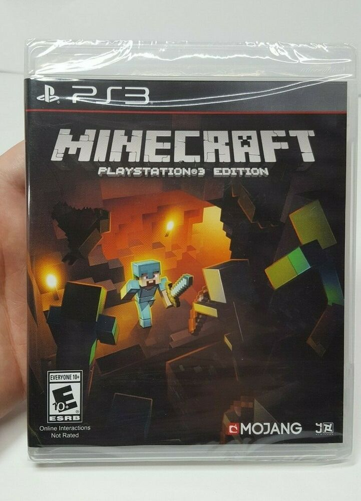 Minecraft Playstation 3 Edition Ps3 Game New Factory Sealed Free Shipping Usa Minecraft Playing Game Playstation Sony Playstation Minecraft