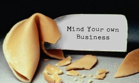 Mind Your Business Sayings | From my reading through the Bible, currently in 1 Thessalonians 3 and ...