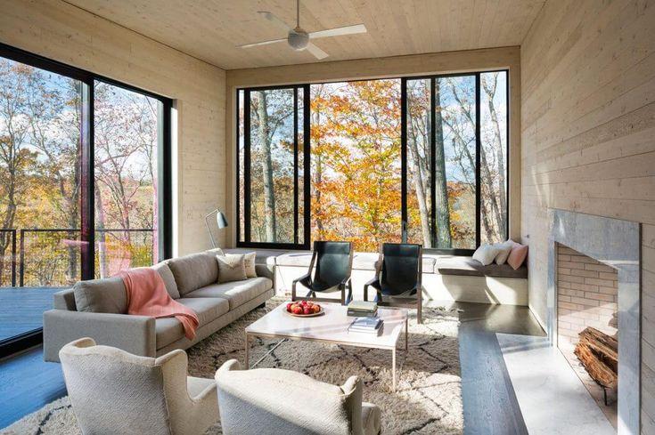 Minimalistický dům ve Virginii architekturou firmy | HomeAdore