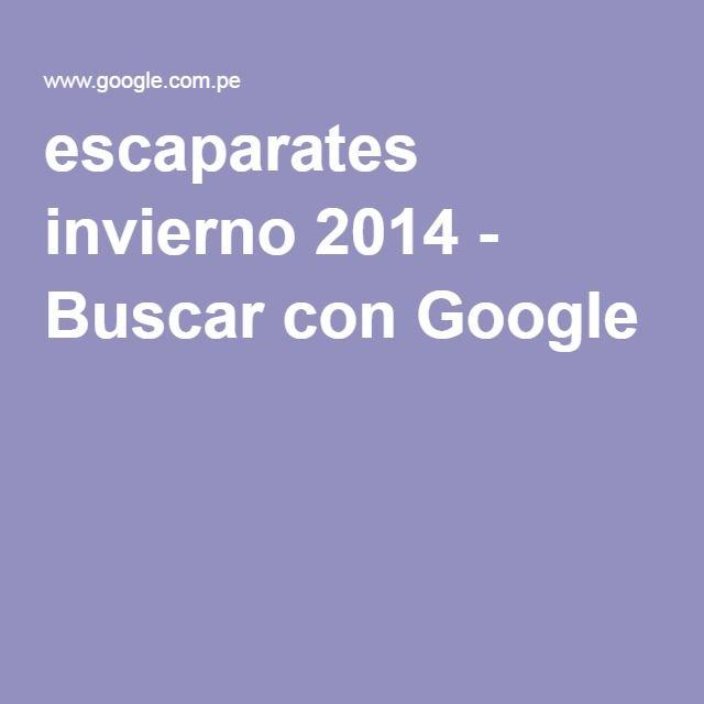 escaparates invierno 2014 - Buscar con Google