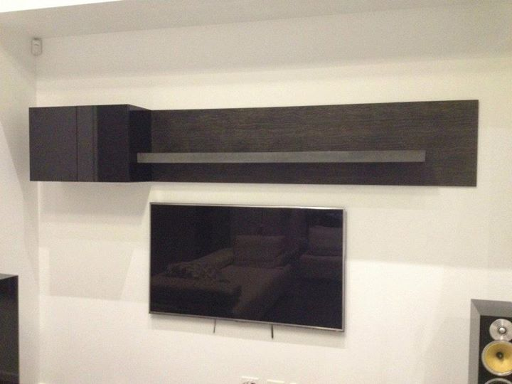 Concrete floating shelves by POPconcrete