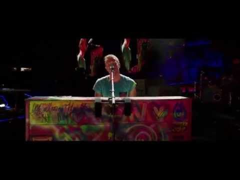 Coldplay - Paradise (Live 2012 from Paris) - YouTube.      Cold Play live with my daughter... Amazing!