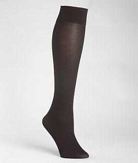 Gold Toe Women's Micromodal Knee High Trouser Socks, One Size, Black Gold Toe. $7.00