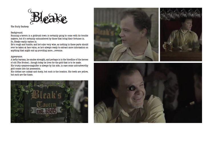 Bleake: The Barkeep (Daniel Cordeaux) by ~alexthegiles on deviantART
