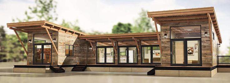 Prefab micro-house / modular / contemporary / energy-efficient HITCH wheelhaus