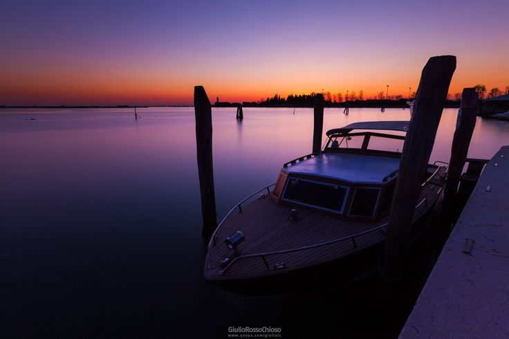 Sunset on Burano by Giulio Rosso Chioso on 500px