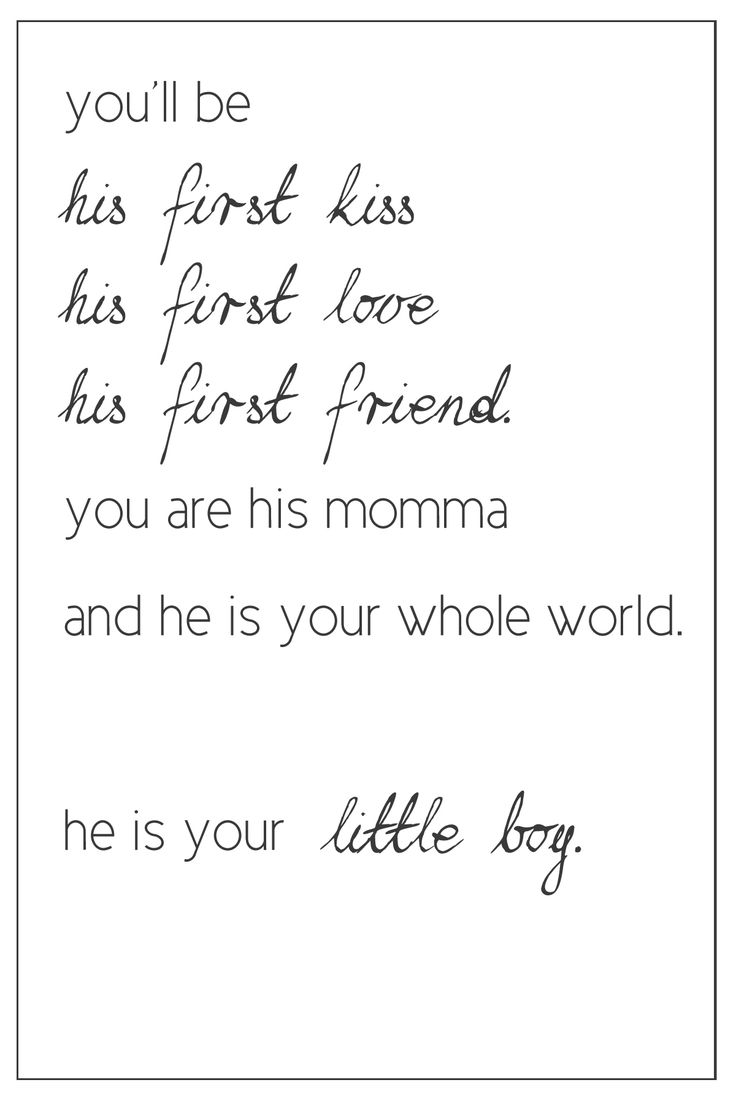 ♥: Love You, Sweet, Quotes, Baby Boys, So True, Kids, Love My Sons, Love My Boys, Little Boys