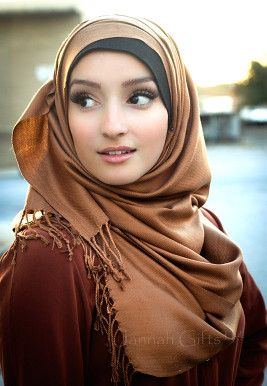 Caramel Pashmina Hijab. Our beautiful caramel Hijab is perfect for this season.  $13 Click here to for best hijabs online. Get your hijabswag www.jannahgifts.com