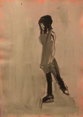 "Saatchi Art Artist Marta Zamarska; Drawing, ""Modern Dance XXVII"" #art"