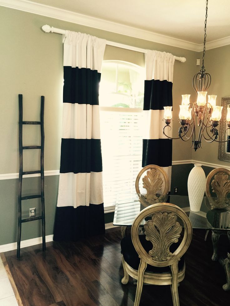 Best 25+ Horizontal striped curtains ideas on Pinterest   The ...