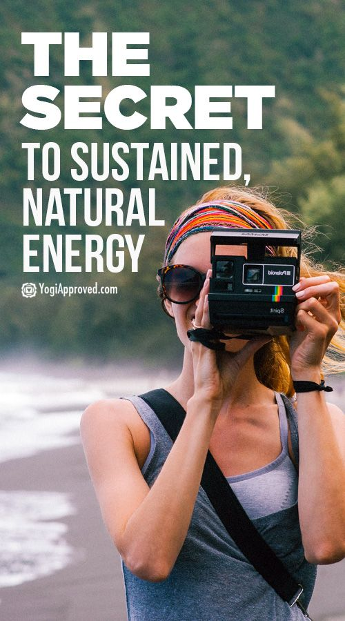 Our eating and exercise habits are a big contributing factor to our energy levels. Yet there's another secret to having sustained, natural energy...
