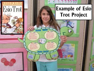 Esio Trot Book Report Project Ideas and Lesson Plans Roald Dahl Day