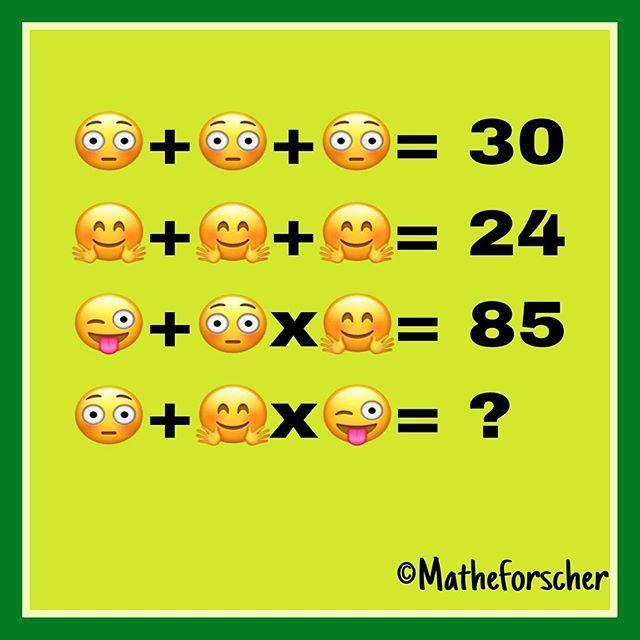 Schaut mal: mein erstes selbst erstelltes Zahlenrätsel! Inspiriert durch @solvemoji  Meine Matheforscher lieben sie und ich will es morgen mal mit ihnen ausprobieren, dass sie selbst solche Rätsel erstellen. Ich werde euch berichten und zeigen!  #matheforscher #matheasse #zahlenrätsel #emoji #mathematik #matheunterricht #grundschule #solvemoji