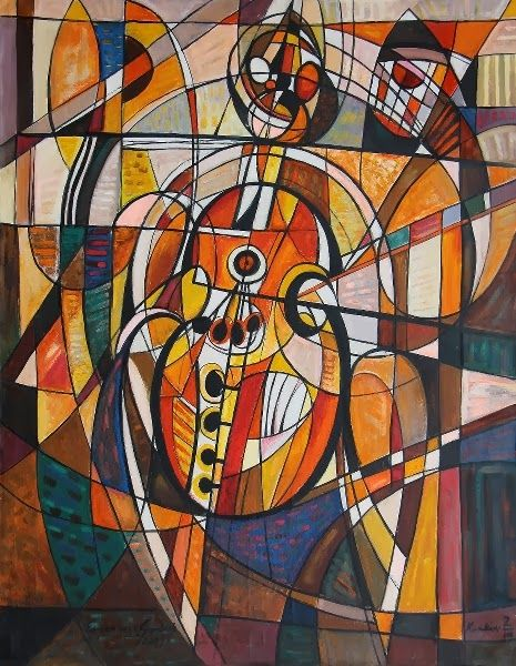 Wystawa malarstwa Eugeniusza Gerlacha w Millenium Hall Rzeszów - MUZYCZNE INSPIRACJE (2013-2014)