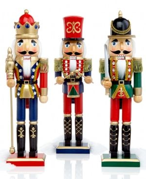 nutcrackers- buy at hobby lobby, walgreens (in duncan), probably walmart, ace…
