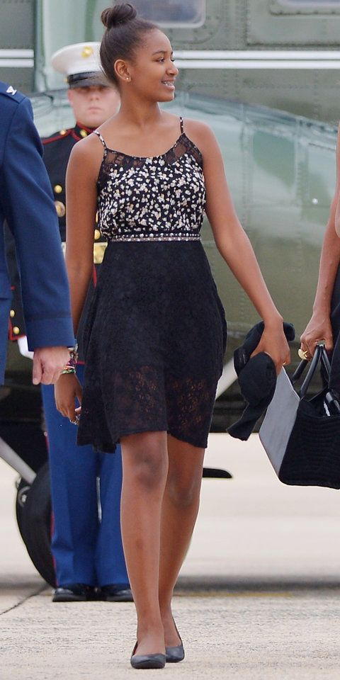Sasha Obama's Style Evolution | InStyle.com