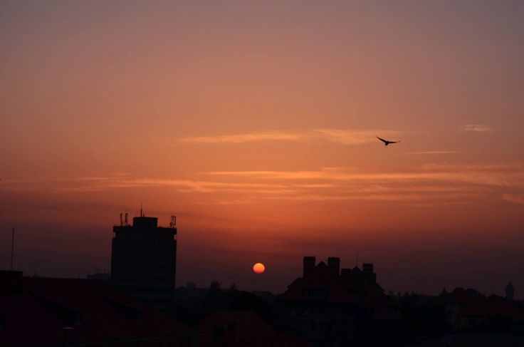 5th floor sunset | Timisoara