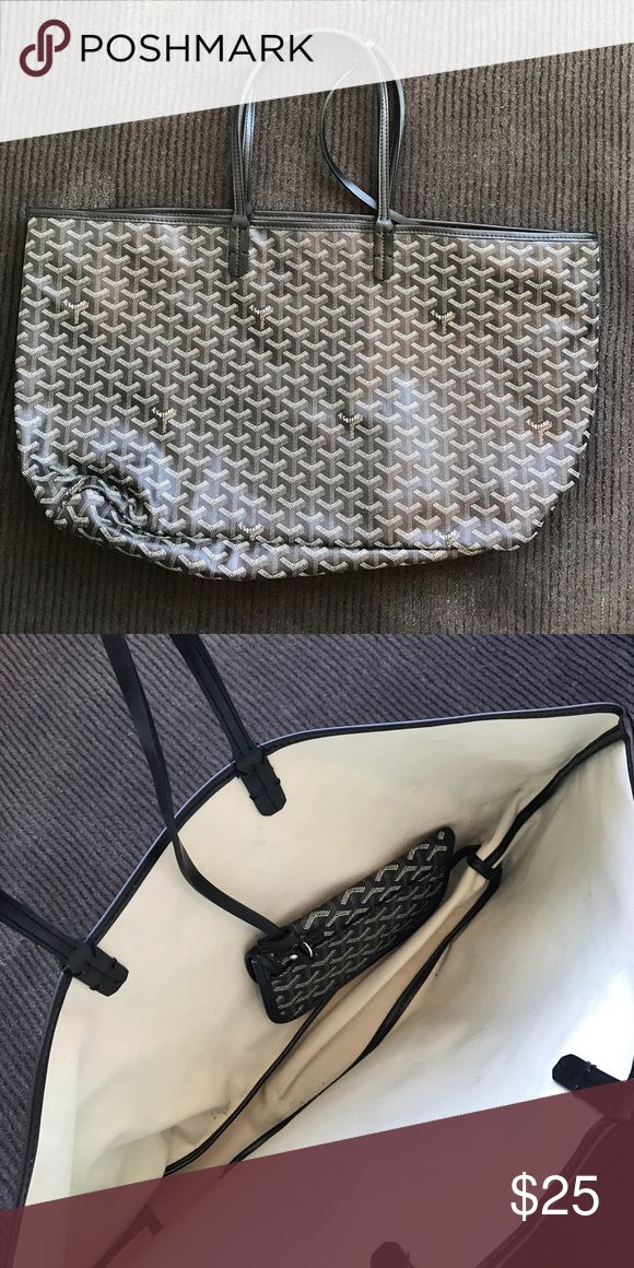 Unauthentic goyard bag Outside and straps in amazing condition Bags Shoulder Bags